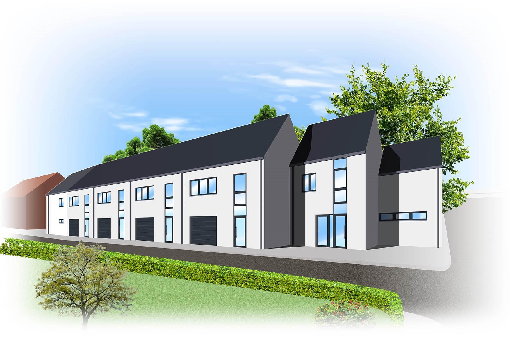 Bornem Boskant, 6 nieuwbouw woningen